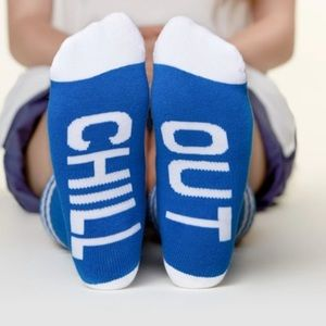 NWT Arthur George Socks Blue Chill Out size 7-12